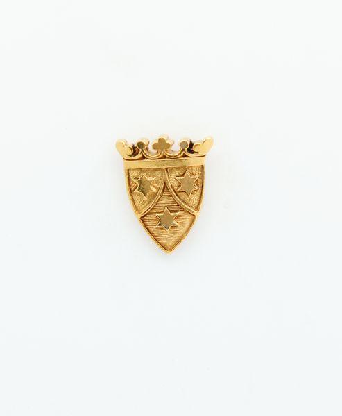 "HERALDRY RELIEVE religious insignia ""SHIELD CARMELITE SHOES 23 MM"""