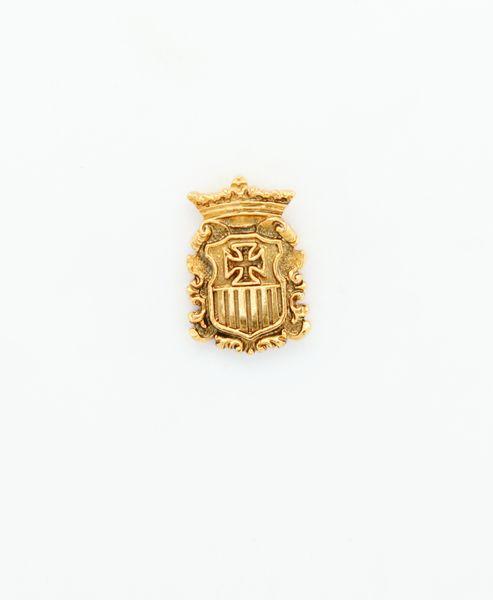 "HERALDRY RELIEVE religious insignia ""SHIELD Mercedario 22 MM HEIGHT"""