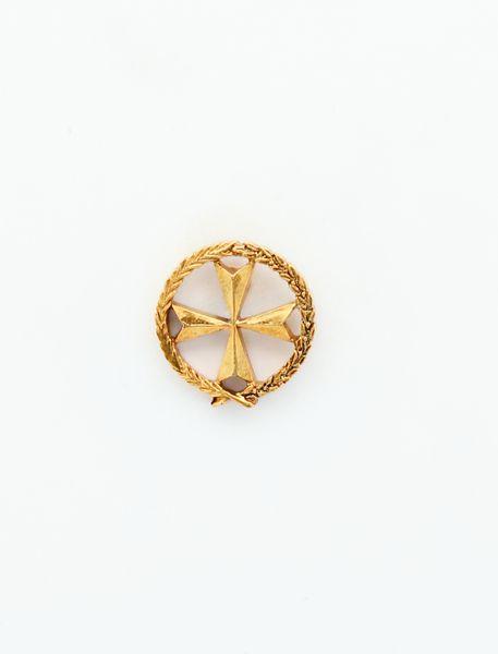 "HERALDRY RELIEVE religious insignia ""St. John Lateran 16 MM HEIGHT"""