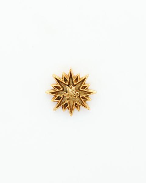 "HERALDRY RELIEVE religious insignia ""AVE MARIA ESTRELLA 20 MM HEIGHT"""