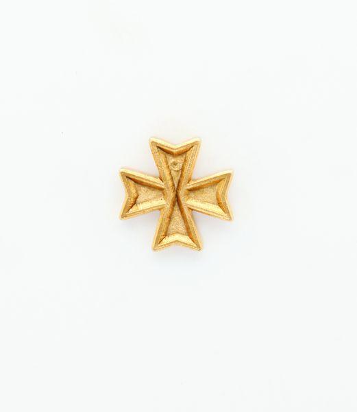 "HERALDRY RELIEVE religious insignia ""MALTESE CROSS FLAT 18 MM HEIGHT"""