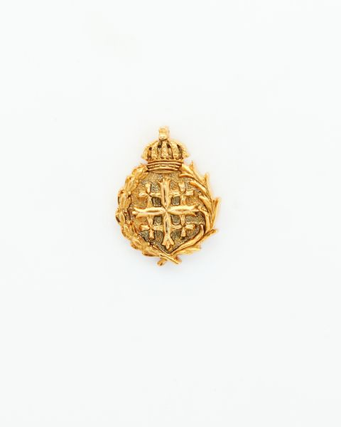 """HERALDRY RELIEVE religious insignia """"HOLY CROSS 22 MM HEIGHT GRAVE"""""""