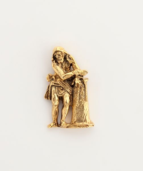 "RELIEVE images religious insignia ""Jesus tied to column 30 mm Height"""