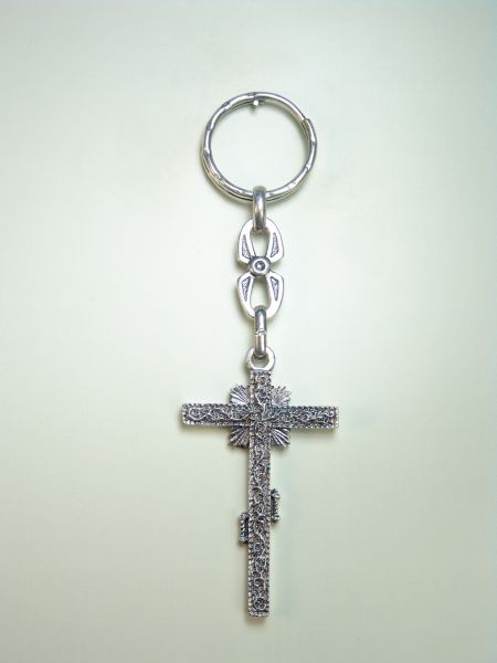 "RELIGIOUS KEYCHAINS RELIEVE brethren ""GUA CROSS"""