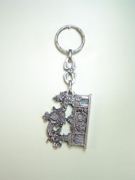 "RELIGIOUS KEYCHAINS RELIEVE brethren ""CALLER WITH PRTICOS"""