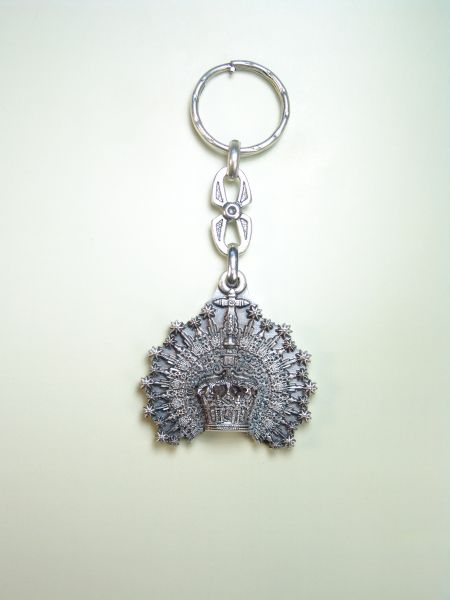 "RELIGIOUS KEYCHAINS RELIEVE brethren ""CROWN WITH STARS"""