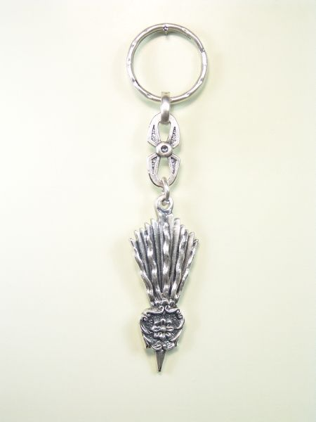 "RELIGIOUS KEYCHAINS RELIEVE brethren ""CHRIST POWER silhouetted"""