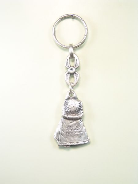 "RELIGIOUS KEYCHAINS RELIEVE brethren ""COSTAL Costalero low relief"""