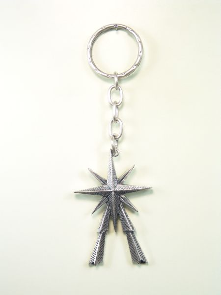 "RELIGIOUS KEYCHAINS RELIEVE brethren ""star of tomorrow"""