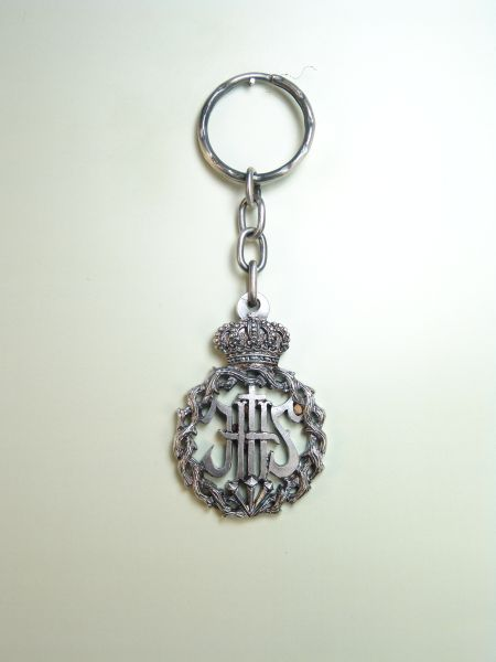 "RELIGIOUS KEYCHAINS HERLDICOS RELIEVE ""SAVIOR JESUS ​​MAN SURROUNDED BY CROWN OF THORNS"""