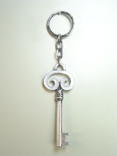 "RELIGIOUS KEYCHAINS HERLDICOS RELIEVE ""keys of paradise"""