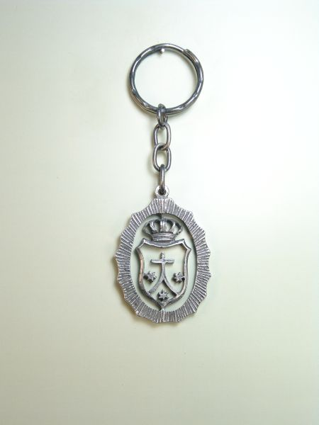 "RELIGIOUS KEYCHAINS HERLDICOS RELIEVE ""CARMELITE ORDER SHIELD"""