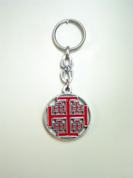 "RELIGIOUS KEYCHAINS HERLDICOS RELIEVE ""Christ lives"""