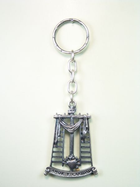 "RELIGIOUS KEYCHAINS HERLDICOS RELIEVE ""love and charity"""