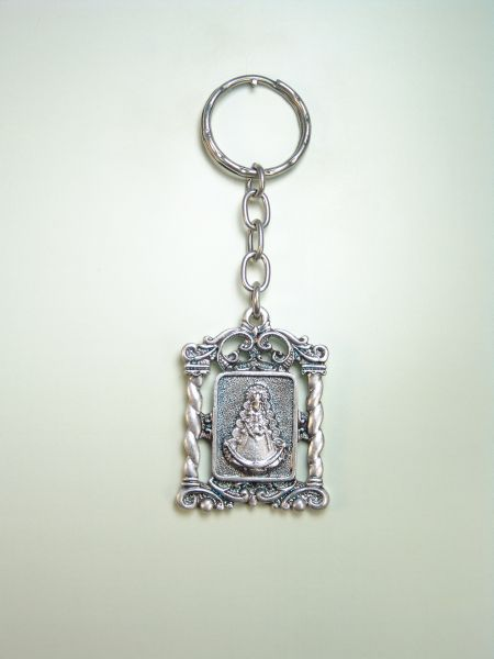 "RELIGIOUS KEYCHAINS images RELIEVE ""VIRGIN OF ORLA SALOMNICA ROCI"""