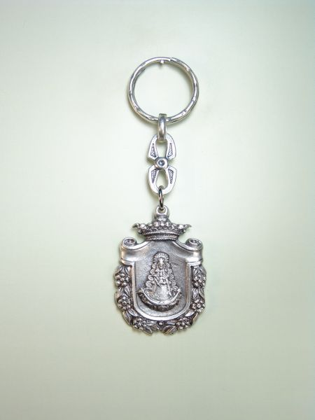 "RELIGIOUS KEYCHAINS images RELIEVE ""VIRGIN OF ORLA ROCINA ROCI"""