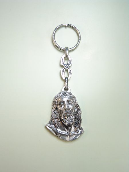 "RELIGIOUS KEYCHAINS images RELIEVE ""NTER FACE. FATHER JESUS"""