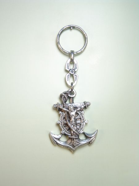 "RELIGIOUS KEYCHAINS images RELIEVE ""SANTSIMO CHRIST THE SEA"""