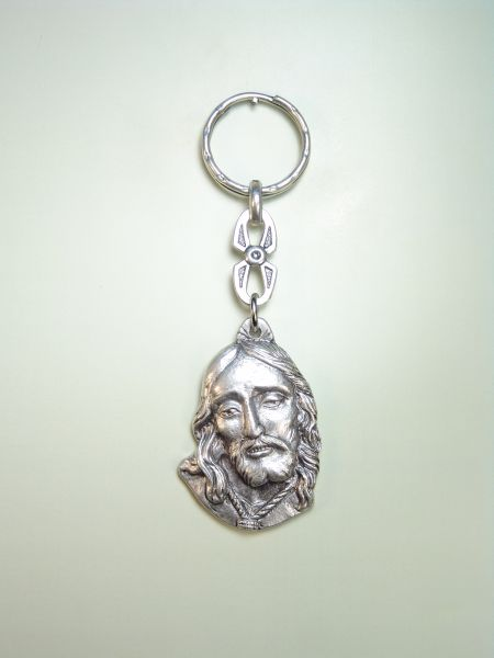 "RELIGIOUS KEYCHAINS images RELIEVE ""NTER FACE OF JESUS ​​FATHER"""