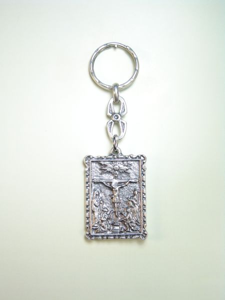 "RELIGIOUS KEYCHAINS images RELIEVE ""crucifixion OF JESUS"""
