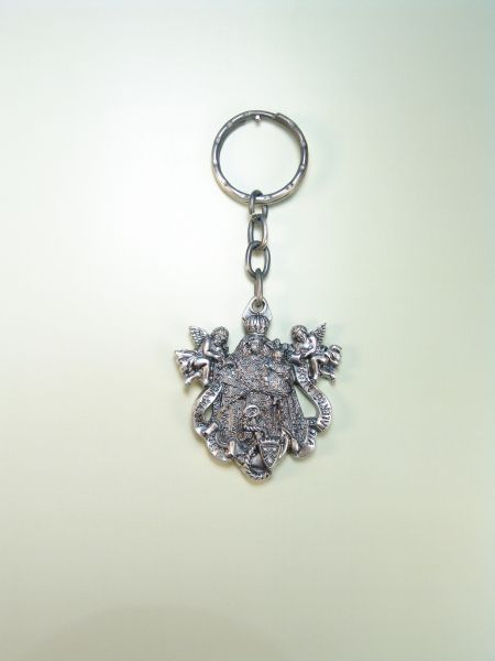 "RELIGIOUS KEYCHAINS images RELIEVE ""VIRGIN OF CARMEN WITH ANGELS"""