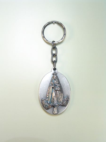 "RELIGIOUS KEYCHAINS images RELIEVE ""VIRGIN APARECIDA"""