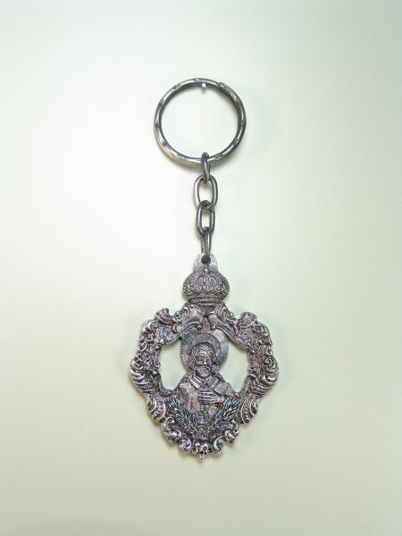 "RELIGIOUS KEYCHAINS images RELIEVE ""SAN ISIDRO half body"""