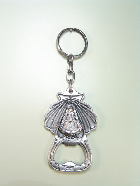 "RELIGIOUS KEYCHAINS images RELIEVE ""VIRGIN OF BOTTLE OPENER ROCI"""