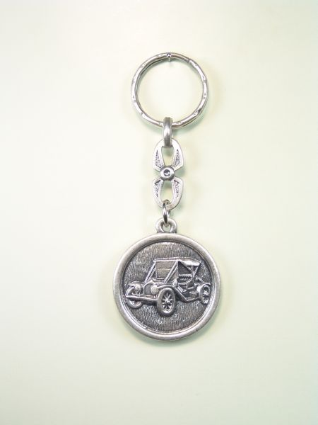 "KEY AUTOMOTIVE SOUVENIRS ""ORLA CAR TIME ON CIRCULAR"""