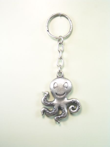 """SOUVENIRS KEYCHAIN hunts """"OCTOPUS RELIEF POOL"""""""