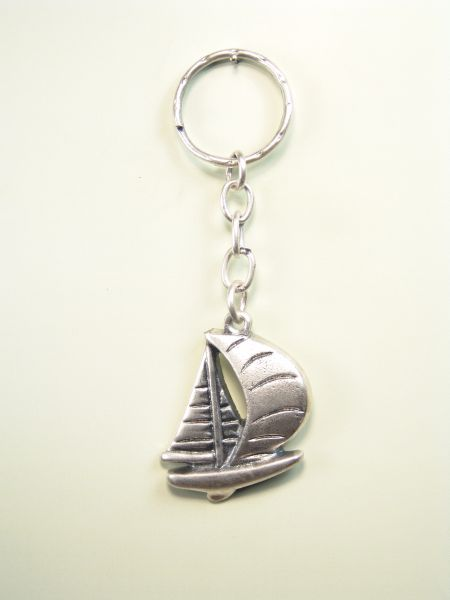 "SOUVENIRS KEY WATER ""SAILING BARQUITO RELIEVE"""
