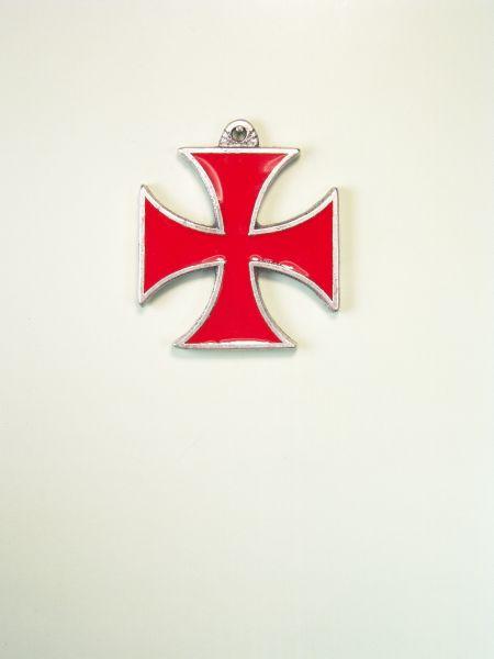 "RELIGIOUS MEDALS ENAMEL COLOR ""SANTA CRUZ DE MALTA-COLOUR GRAVURE"""