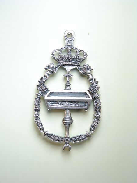"HERLDICAS religious medals RELIEVE ""ORLA TOISON FRETRO 70 MM"""