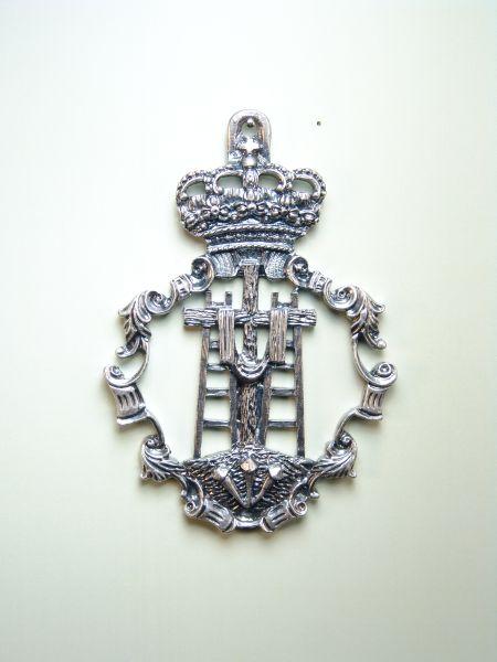 "RELIEVE HERLDICAS religious medals ""75 MM DEPTH Sacred Descent"""