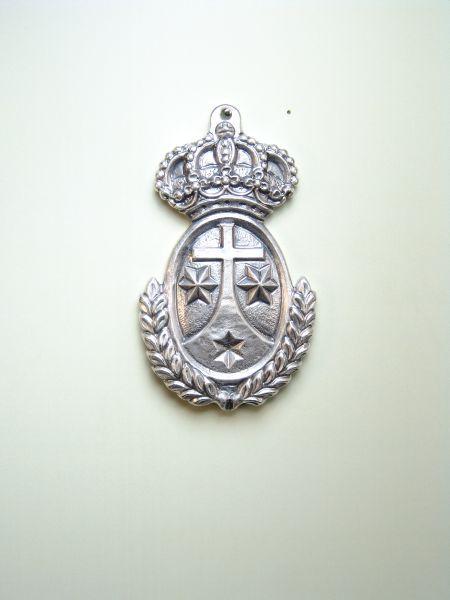 """HERLDICAS religious medals RELIEVE """"ORDER CARMELITA 60 MM"""""""