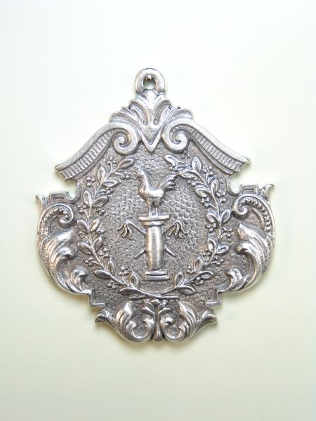 """HERLDICAS religious medals RELIEVE """"DENIAL OF SAN PEDRO WHIPS ON COLUMN 75 MM"""""""