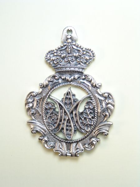 """HERLDICAS religious medals RELIEVE """"Daughters of Mary CALADA 75 MM"""""""