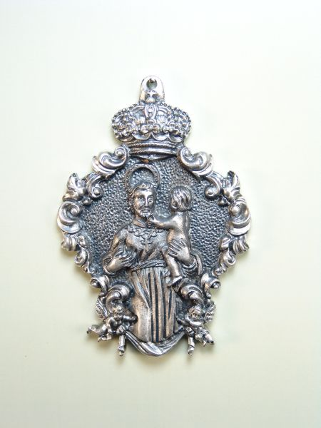 "RELIGIOUS MEDALS images RELIEVE ""San Cayetano 75 MM"""