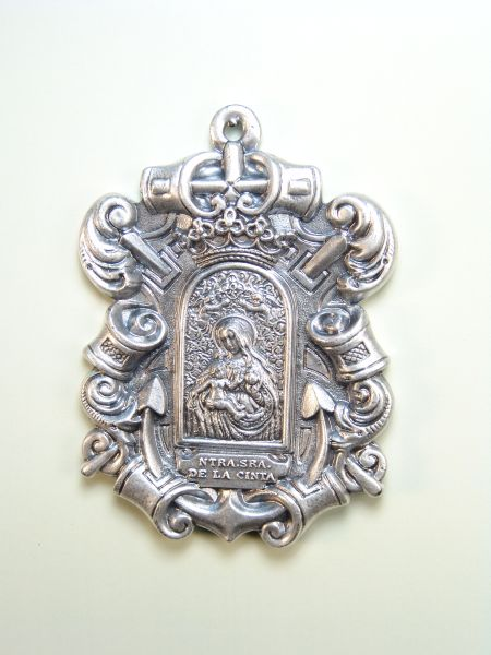 "RELIGIOUS MEDALS images RELIEVE ""VIRGIN OF THE TAPE 75 MM"""