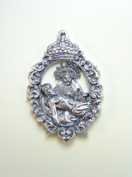 "RELIGIOUS MEDALS images RELIEVE ""NTRA. SRA. MIDDLE OF SORROWS ORLA BAROQUE BODY 70 MM"""
