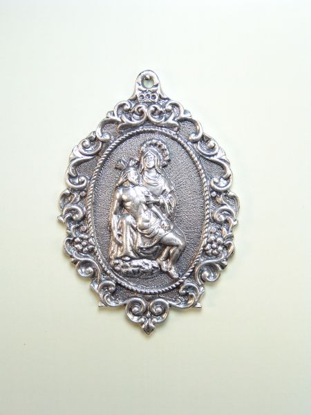 "RELIGIOUS MEDALS images RELIEVE ""ANGUISH SOLITUDE 70 MM"""