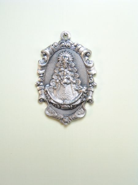 "RELIGIOUS MEDALS images RELIEVE ""VIRGIN OF ORLA classical ROCI 55 MM"""