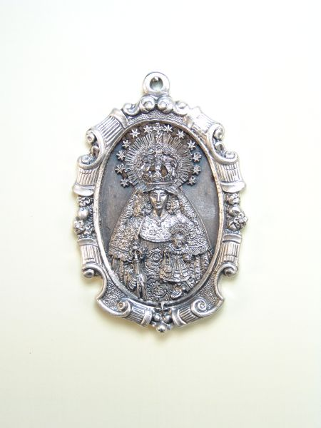 "RELIGIOUS MEDALS images RELIEVE ""Virgen del Carmen ORLA classical 70 MM"""