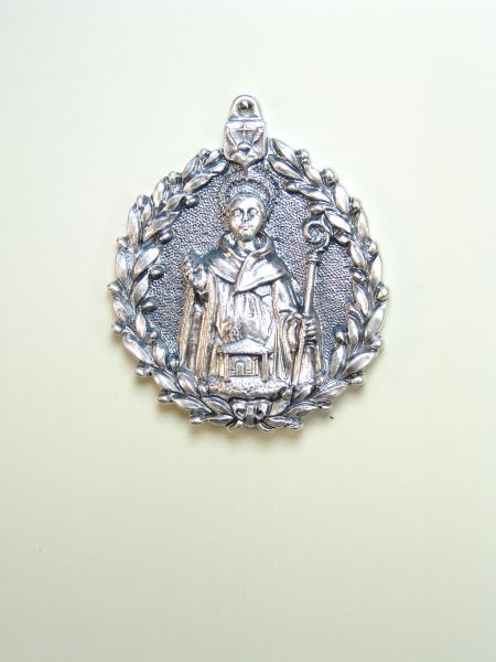 "RELIGIOUS MEDALS images RELIEVE ""SAN BENITO ORLA OLIVE 55 MM"""
