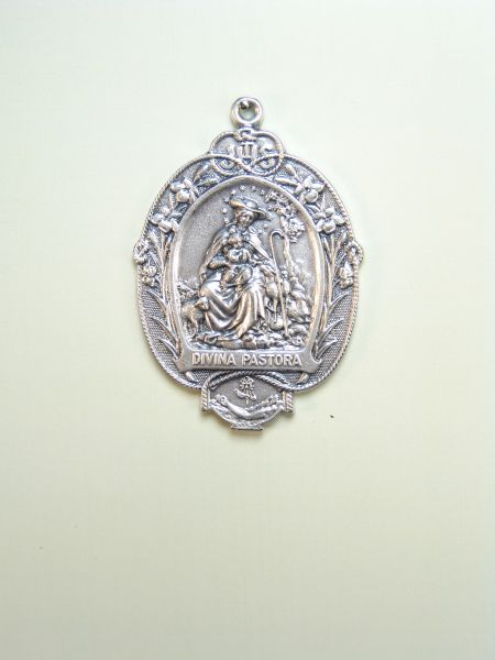 "RELIGIOUS MEDALS images RELIEVE ""Divina Pastora low relief 55 MM"""