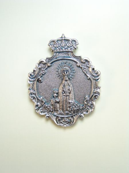 "RELIGIOUS MEDALS images RELIEVE ""Virgin of Nazareth 70 MM"""