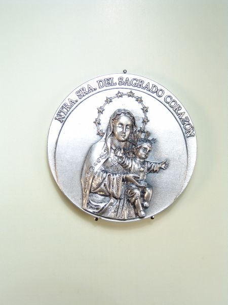 "RELIGIOUS MEDALS images RELIEVE ""NTRA. SRA. The Sacred Heart 62 MM"""