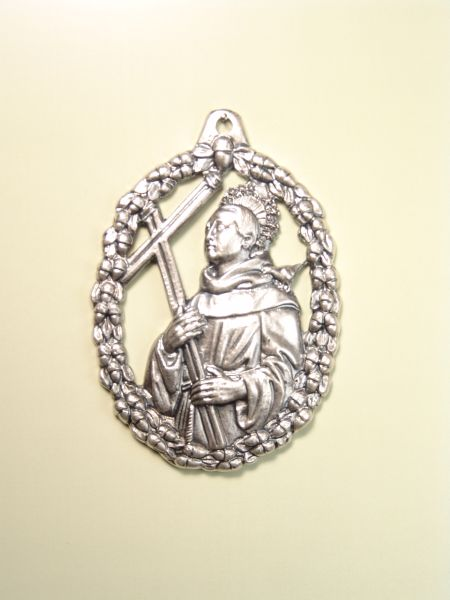 "RELIGIOUS MEDALS images RELIEVE ""SAN DIEGO ORLA ACORNS 70 MM"""