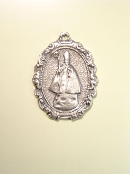 "RELIGIOUS MEDALS images RELIEVE ""SAN BENITO ORLA 60MM DOTTED"""