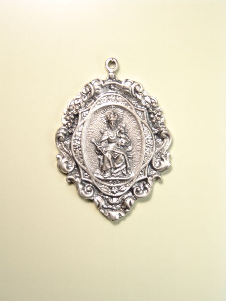 "RELIGIOUS MEDALS images RELIEVE ""VIRGIN ornate CONSOLACIN 60 MM"""